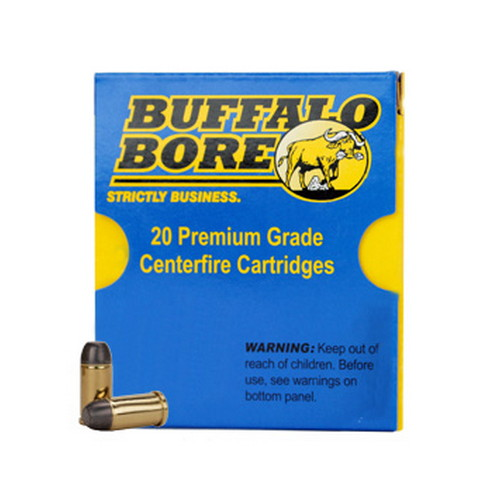 Buffalo Bore Ammunition Buffalo Bore Ammunition 45 ACP +P 255 Gr Hard Cast FN (Per 20) 32A/20