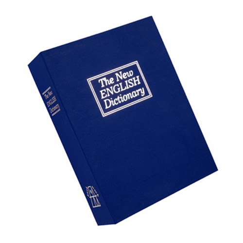 Bulldog Cases Bulldog Cases Deluxe Diversion Book Safe Blue BD1180