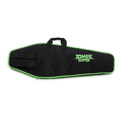 Bulldog Cases Economy Tactical Case Black w/Zombie Green Trim 43