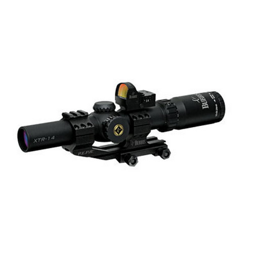 Burris Burris Xtreme Tactical XTR Scopes, 30mm 1-4x25mm with Fastfire 2 201905