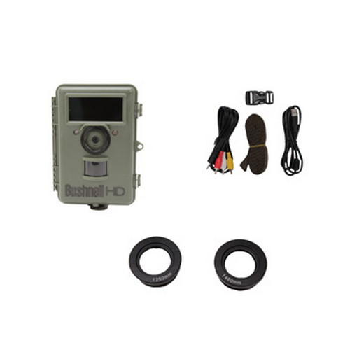 Bushnell NatureView HD Cam, Olive Drab, 8 MP Night Vision Max, Text Display 119439