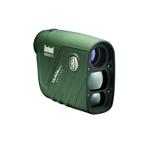 Bushnell Chuck Adams Bowhunter Rangefinder, 4x20mm, Green, Vertical Confg., Bow Mode