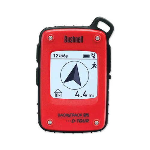 Bushnell BackTrack GPS D-Tour Red, Clam Pack