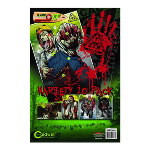 Caldwell Caldwell ZTR Zombie Flake-Off Combo Pack 10 Pack 791577