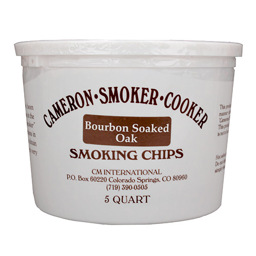 Camerons Products Camerons Products Smoking Chips 5-Quart Bourbon Soaked Oak BQSO