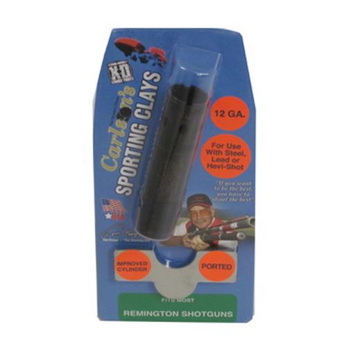 Carlsons Carlsons Remington Sporting Clay Choke Tubes Ported, 12 Gauge, Improved Cylinder 13391