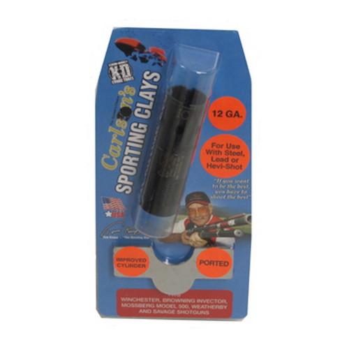 Carlsons Carlsons Win/Brn/Moss Sporting Clay Choke Tubes Ported, 12 Gauge, Improved Cylinder 17792