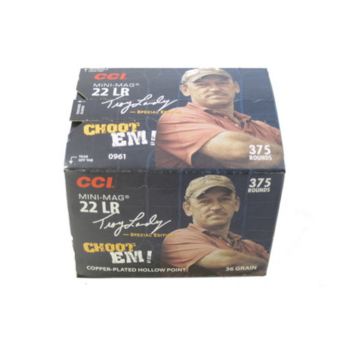 CCI CCI Swamp People Ammunition 22LR Mini-Mag 36 Gr HP (Per 375) 961