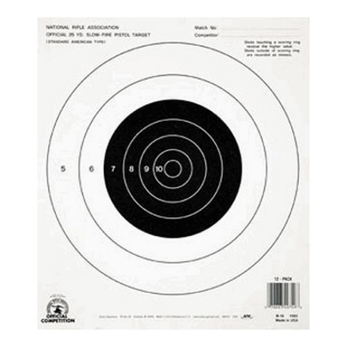 Champion Traps and Targets Champion Traps and Targets B16 25 Yard Pistol Slow Fire (Per 100) 40722
