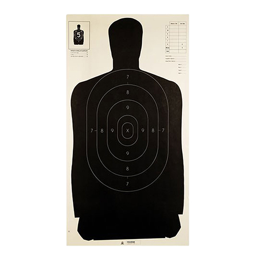Champion Traps and Targets Champion Traps and Targets Police Silhouette Target B-27 (Per 100) 40727