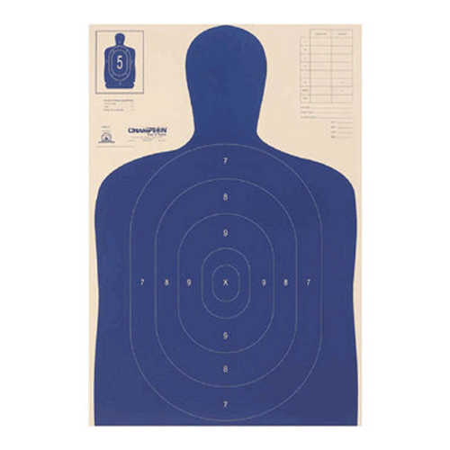 Champion Traps and Targets Champion Traps and Targets Police Silhouette Target B-27 E (100 Pack) 40730