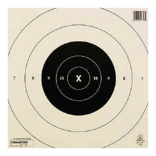 Champion Traps and Targets Champion Traps and Targets NRA Targets 25yd Timed & Rapid Fire Tagboard (Per 12) 40753