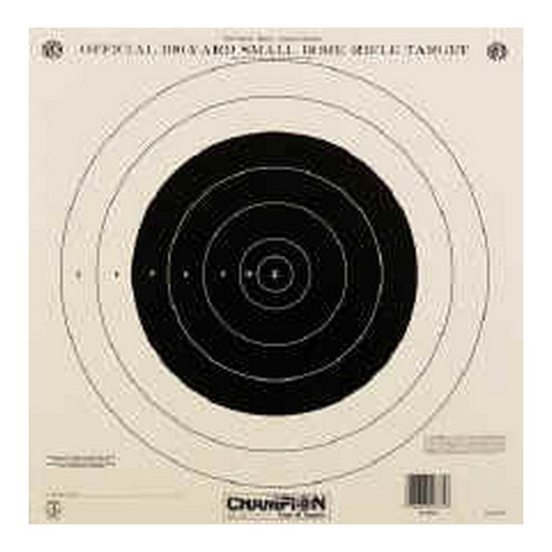 Champion Traps and Targets Champion Traps and Targets NRA Targets 100yd Single Bulls eye (Per 12) 40762
