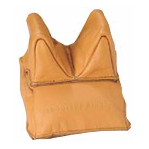 Champion Traps and Targets Champion Traps and Targets Unfilled Leather Steady Bags Rear 40877
