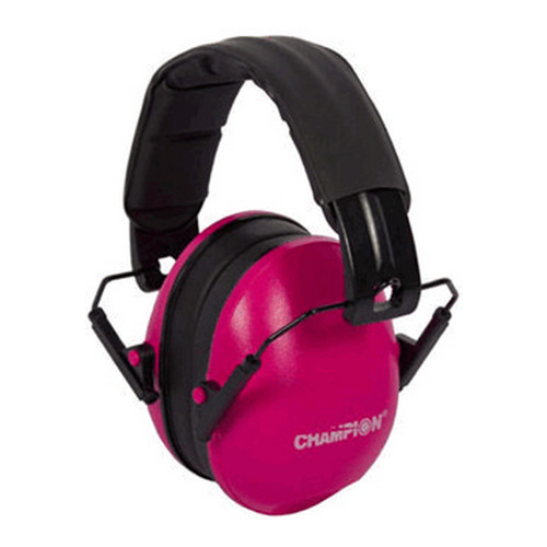 Champion Traps and Targets Ear Muffs Slim, Passive, Pink