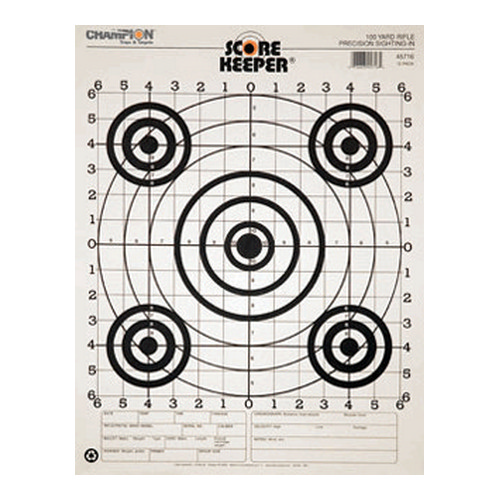 Champion Traps and Targets Champion Traps and Targets 100 Yard Sightin B/B (Per 100) 45746