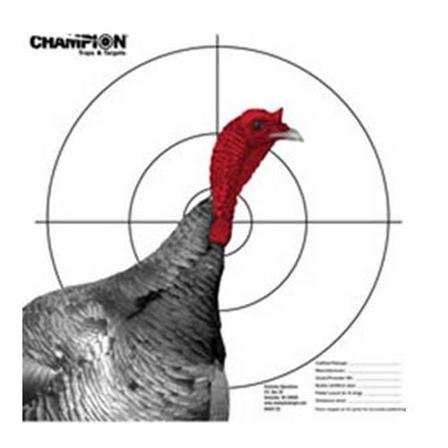 Champion Traps and Targets Champion Traps and Targets Pattern Target, Full Turkey 45792