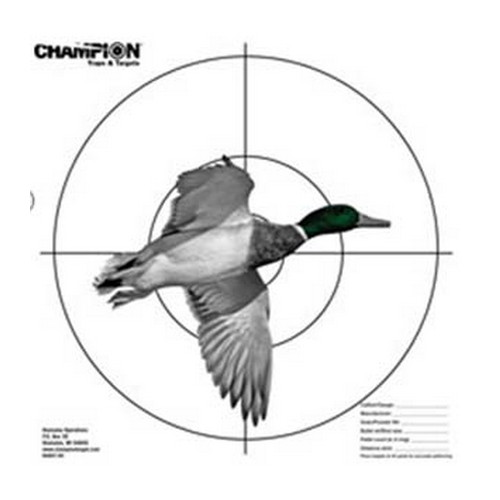 Champion Traps and Targets Champion Traps and Targets Pattern Target, Full Duck 45793