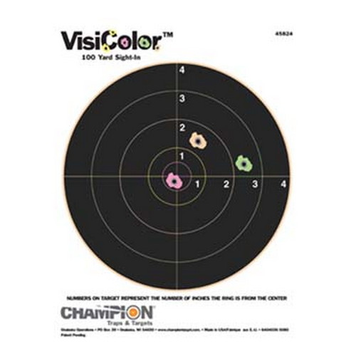 Champion Traps and Targets Champion Traps and Targets Visicolor Targets 8