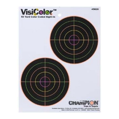 Champion Traps and Targets Champion Traps and Targets Visicolor Targets 5