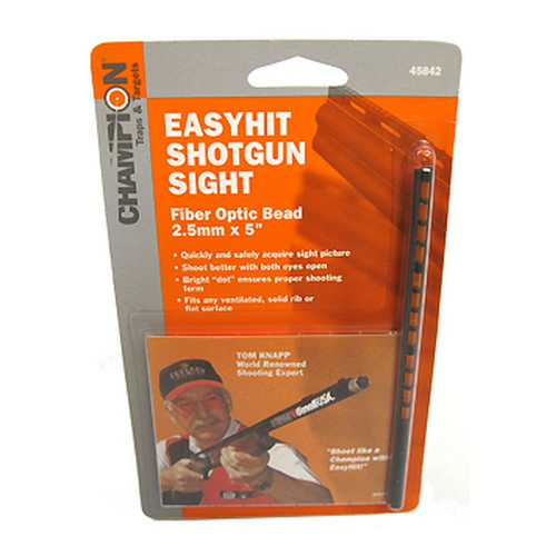 Champion Traps and Targets Champion Traps and Targets Easy Hit Shotgun Sight 2.5mm, Red 45842
