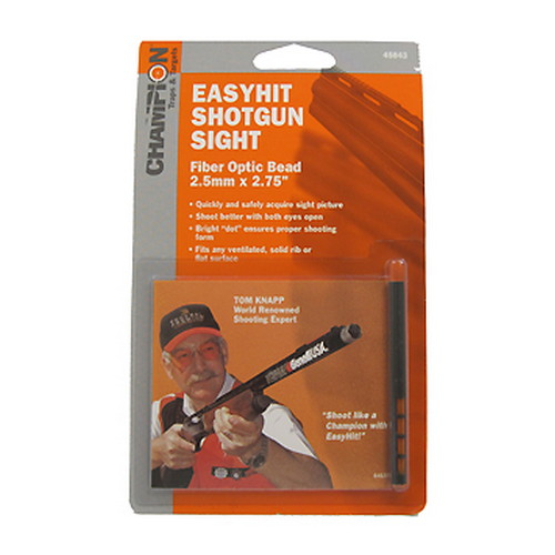 Champion Traps and Targets Champion Traps and Targets Easy Hit Shotgun Sight 2.5mm, Red, 2.75