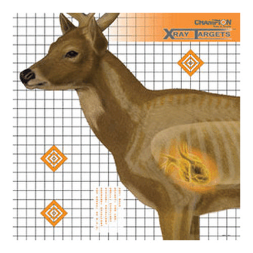 Champion Traps and Targets Champion Traps and Targets Deer Target 25x25 (6 Pack) 45902