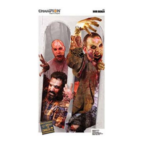 Champion Traps and Targets Champion Traps and Targets Zombie Targets Door Breach Zombie, 24x34