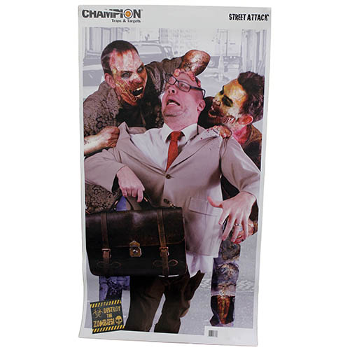 Champion Traps and Targets Champion Traps and Targets Zombie Targets Visicolor Street Attack 12