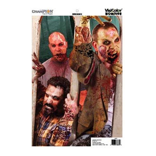 Champion Traps and Targets Zombie Targets Visicolor Door Breach 12
