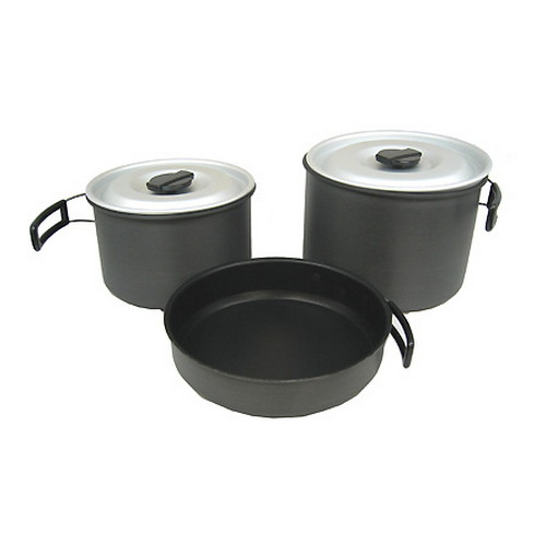 Chinook Chinook Ridge Hard Anodized Cookset X-Large 41415