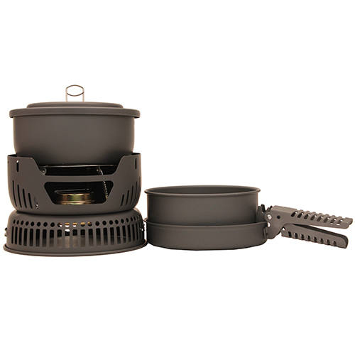 Chinook Chinook Hard Anodized 9-Piece Stove/Cookset 41440