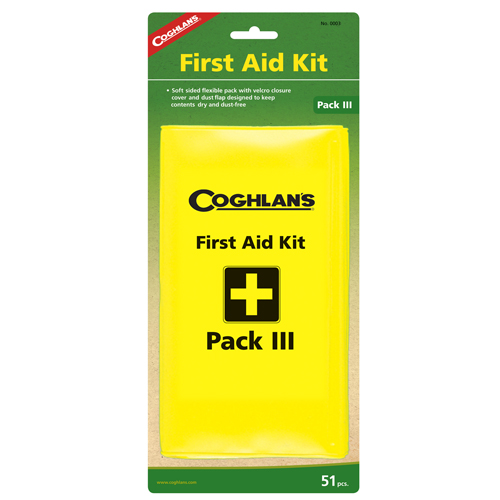 Coghlans Coghlans Pack First Aid Kit III 0003
