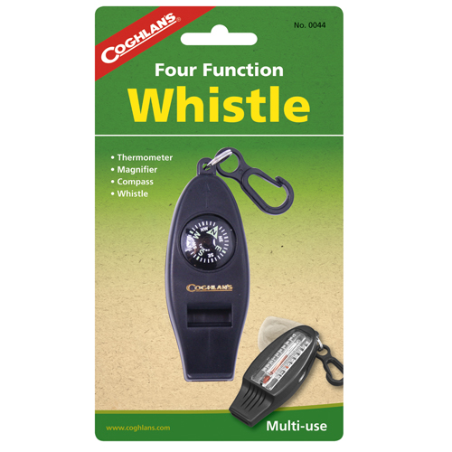 Coghlans Coghlans Camping Whistle Four Function Whistle 0044