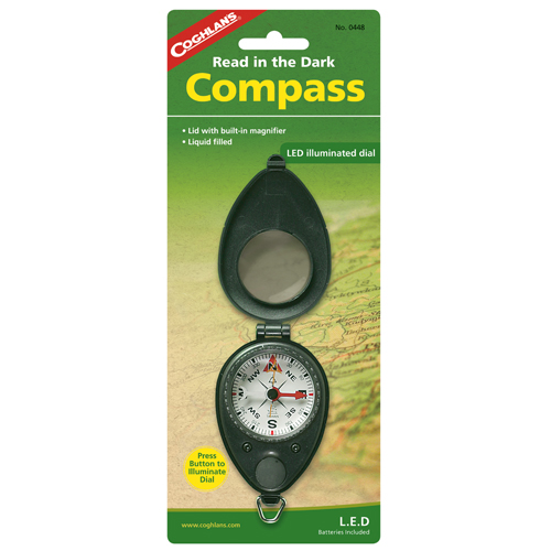 Coghlans Coghlans Compass with LED Light 0448