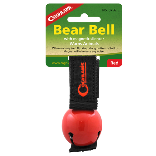 Coghlans Coghlans Bear Bell Magnetic, Red 0756