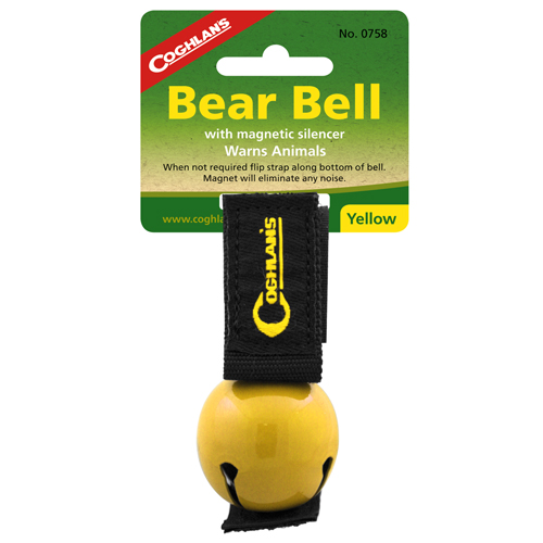 Coghlans Coghlans Bear Bell Magnetic, Yellow 0758