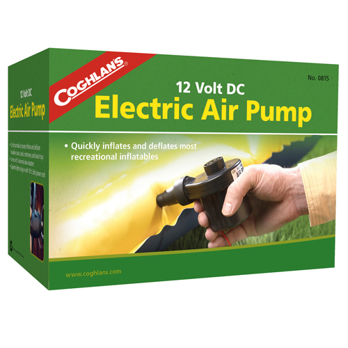 Coghlans Coghlans Electric Air Pump 12V DC 0815