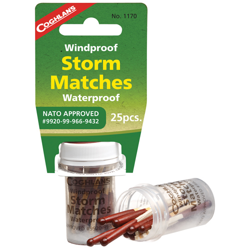 Coghlans Coghlans Wind/Water-Proof Storm Matches 1170