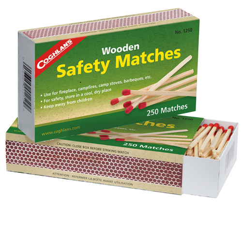 Coghlans Coghlans Wooden Safety Matches 1250