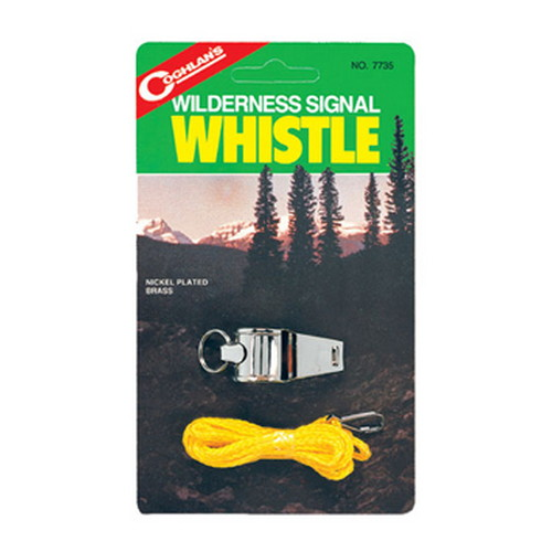 Coghlans Coghlans Camping Whistle Wilderness Signal Whistle 7735