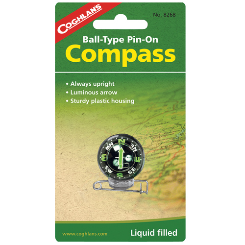 Coghlans Coghlans Ball Pin-On Compass 8268
