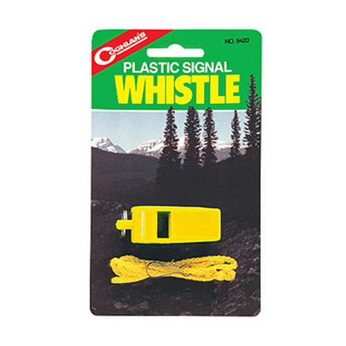 Coghlans Coghlans Signal Whistle - Yellow Plastic 9420