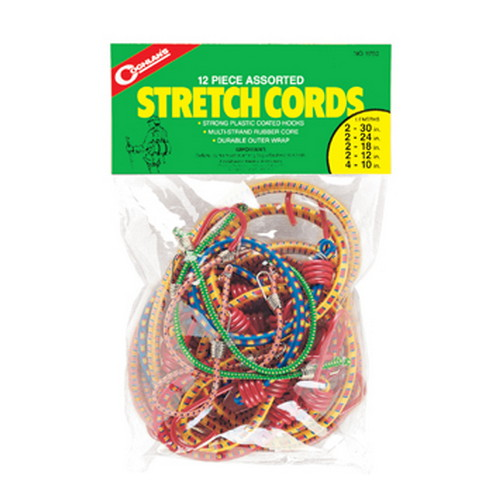 Coghlans Coghlans Stretch Cord Asstortment - Package of 12 9750