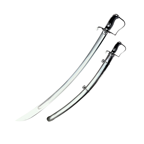 Cold Steel Cold Steel Saber 1796 Light Cavalry Saber, Steel Scabbard 88SS