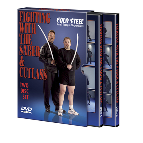 Cold Steel Cold Steel Training DVD Fight with Cutlass & Sabre VDFSC