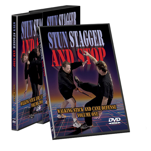 Cold Steel Cold Steel Training DVD Stun, Stagger, Stop VDSC