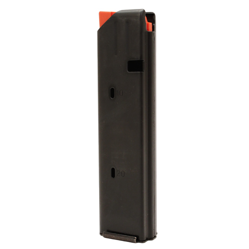 C Products Defense 9mm SS Matte Black/Orange Follower 20 Round (Per 1)