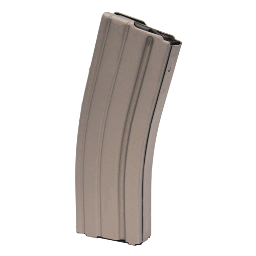 C Products Defense 223 Remington Aluminum Teflon 30 Round Black Follower Grey Magazine (Per 1) Grey/Black Follower