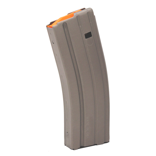 C Products Defense C Products Defense AR-15 Magazine .223 Aluminum Teflon, 30 Round (Per 100) Grey/Orange Follower 3023002178CPDC